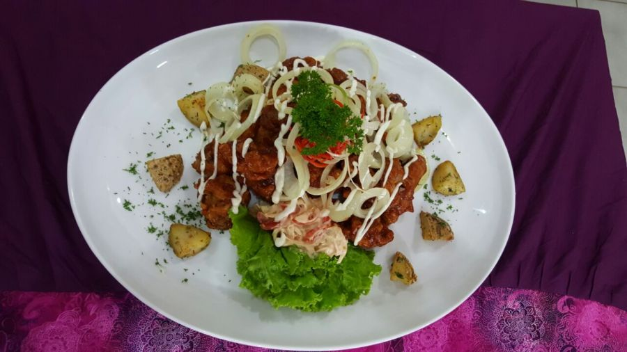 Ayam Crispy Saus Barbeque