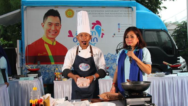 Chef Iyan dan MC Nita di Bogor