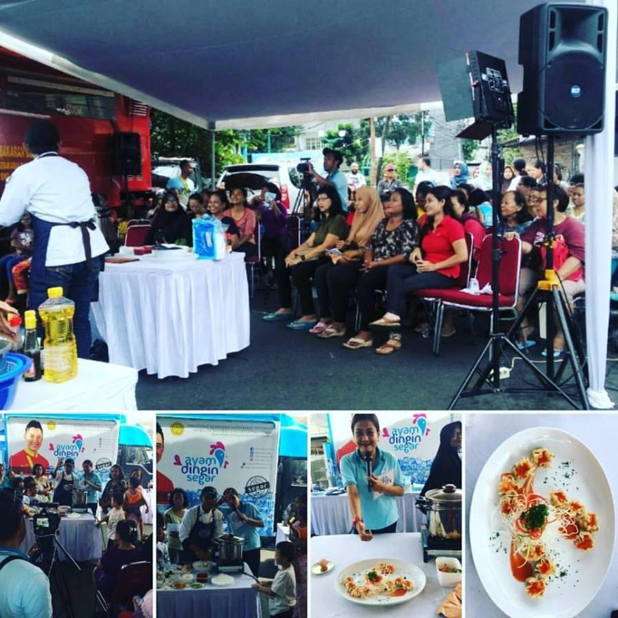 Suasana Fun Cooking Road Show di Tanah Tinggi, Jakarta Pusat, Sabtu, 4 Februari 2016.